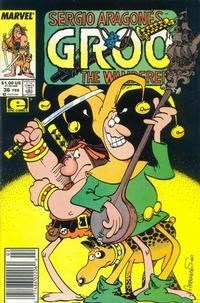 Cover for Sergio Aragonés Groo the Wanderer (Marvel, 1985 series) #36 [Direct Edition]