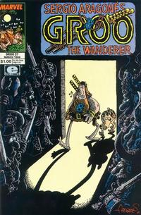 Cover Thumbnail for Sergio Aragonés Groo the Wanderer (Marvel, 1985 series) #37 [Direct Edition]