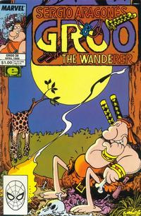 Cover Thumbnail for Sergio Aragonés Groo the Wanderer (Marvel, 1985 series) #38 [Direct Edition]