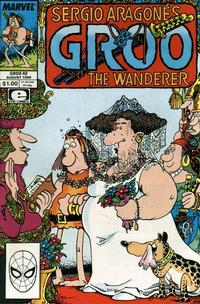 Cover for Sergio Aragonés Groo the Wanderer (Marvel, 1985 series) #42 [Direct Edition]