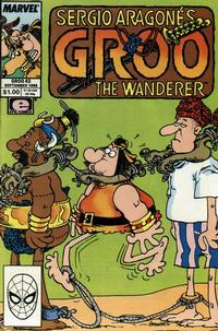 Cover Thumbnail for Sergio Aragonés Groo the Wanderer (Marvel, 1985 series) #43 [Direct Edition]