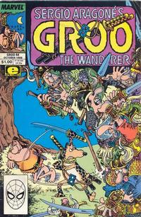 Cover Thumbnail for Sergio Aragonés Groo the Wanderer (Marvel, 1985 series) #44 [Direct Edition]