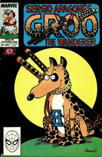 Cover for Sergio Aragonés Groo the Wanderer (Marvel, 1985 series) #45 [Direct Edition]