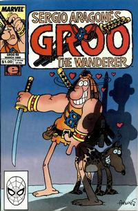 Cover Thumbnail for Sergio Aragonés Groo the Wanderer (Marvel, 1985 series) #49 [Direct Edition]