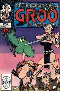 Cover Thumbnail for Sergio Aragonés Groo the Wanderer (Marvel, 1985 series) #53 [Direct Edition]