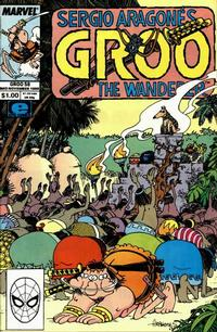 Cover Thumbnail for Sergio Aragonés Groo the Wanderer (Marvel, 1985 series) #58 [Direct Edition]