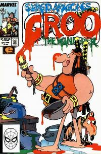 Cover Thumbnail for Sergio Aragonés Groo the Wanderer (Marvel, 1985 series) #64 [Direct Edition]