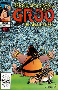 Cover Thumbnail for Sergio Aragonés Groo the Wanderer (Marvel, 1985 series) #66 [Direct Edition]