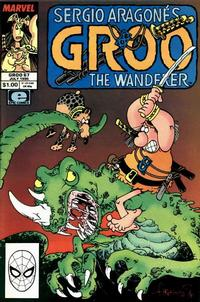 Cover Thumbnail for Sergio Aragonés Groo the Wanderer (Marvel, 1985 series) #67 [Direct Edition]