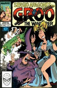 Cover Thumbnail for Sergio Aragonés Groo the Wanderer (Marvel, 1985 series) #68 [Direct Edition]
