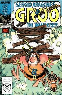 Cover for Sergio Aragonés Groo the Wanderer (Marvel, 1985 series) #69 [Direct Edition]