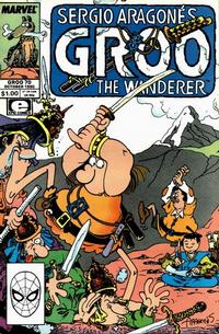 Cover for Sergio Aragonés Groo the Wanderer (Marvel, 1985 series) #70 [Direct Edition]