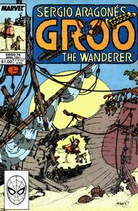 Cover Thumbnail for Sergio Aragonés Groo the Wanderer (Marvel, 1985 series) #76 [Direct Edition]