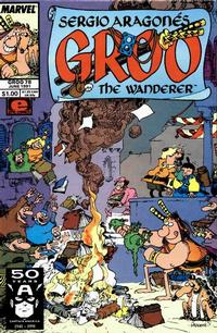 Cover Thumbnail for Sergio Aragonés Groo the Wanderer (Marvel, 1985 series) #78 [Direct Edition]