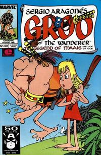 Cover for Sergio Aragonés Groo the Wanderer (Marvel, 1985 series) #80 [Direct Edition]