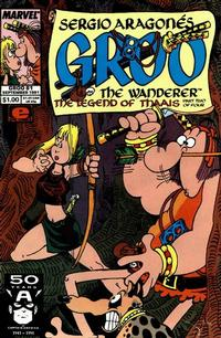 Cover Thumbnail for Sergio Aragonés Groo the Wanderer (Marvel, 1985 series) #81 [Direct Edition]