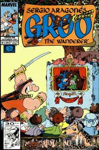 Cover Thumbnail for Sergio Aragonés Groo the Wanderer (Marvel, 1985 series) #84 [Direct Edition]