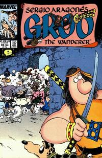 Cover for Sergio Aragonés Groo the Wanderer (Marvel, 1985 series) #86 [Direct Edition]