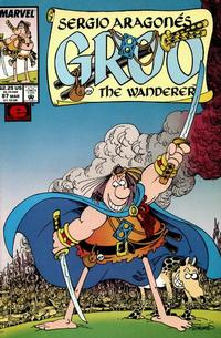 Cover Thumbnail for Sergio Aragonés Groo the Wanderer (Marvel, 1985 series) #87 [Direct Edition]