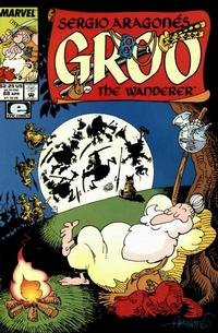 Cover for Sergio Aragonés Groo the Wanderer (Marvel, 1985 series) #88 [Direct Edition]