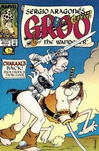 Cover Thumbnail for Sergio Aragonés Groo the Wanderer (Marvel, 1985 series) #89 [Direct Edition]