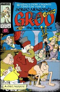 Cover for Sergio Aragonés Groo the Wanderer (Marvel, 1985 series) #90 [Direct Edition]