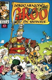 Cover for Sergio Aragonés Groo the Wanderer (Marvel, 1985 series) #91 [Direct Edition]
