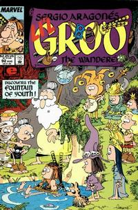 Cover Thumbnail for Sergio Aragonés Groo the Wanderer (Marvel, 1985 series) #92 [Direct Edition]