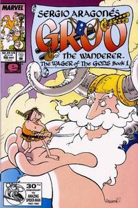 Cover Thumbnail for Sergio Aragonés Groo the Wanderer (Marvel, 1985 series) #96