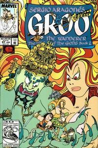 Cover Thumbnail for Sergio Aragonés Groo the Wanderer (Marvel, 1985 series) #97