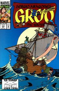 Cover Thumbnail for Sergio Aragonés Groo the Wanderer (Marvel, 1985 series) #101