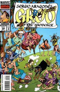 Cover for Sergio Aragonés Groo the Wanderer (Marvel, 1985 series) #104