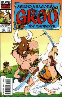 Cover Thumbnail for Sergio Aragonés Groo the Wanderer (Marvel, 1985 series) #105