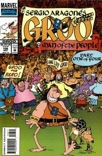 Cover Thumbnail for Sergio Aragonés Groo the Wanderer (Marvel, 1985 series) #106