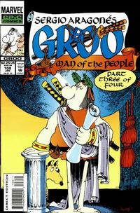 Cover Thumbnail for Sergio Aragonés Groo the Wanderer (Marvel, 1985 series) #108