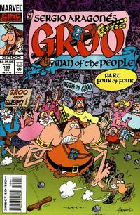 Cover for Sergio Aragonés Groo the Wanderer (Marvel, 1985 series) #109