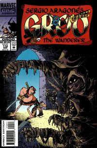 Cover Thumbnail for Sergio Aragonés Groo the Wanderer (Marvel, 1985 series) #110