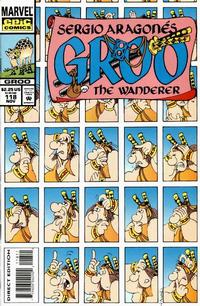 Cover Thumbnail for Sergio Aragonés Groo the Wanderer (Marvel, 1985 series) #118