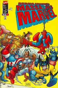 Cover Thumbnail for Sergio Aragonés Massacres Marvel (Marvel, 1996 series) #1