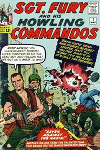 Cover Thumbnail for Sgt. Fury (Marvel, 1963 series) #1