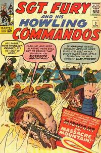 Cover Thumbnail for Sgt. Fury (Marvel, 1963 series) #3