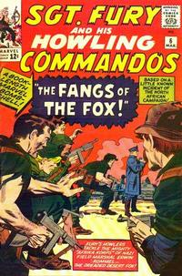 Cover Thumbnail for Sgt. Fury (Marvel, 1963 series) #6