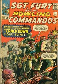 Cover Thumbnail for Sgt. Fury (Marvel, 1963 series) #11