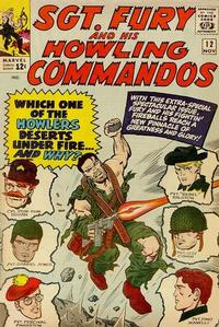 Cover Thumbnail for Sgt. Fury (Marvel, 1963 series) #12