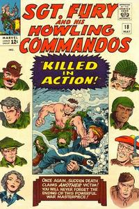 Cover Thumbnail for Sgt. Fury (Marvel, 1963 series) #18