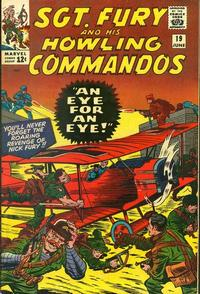Cover Thumbnail for Sgt. Fury (Marvel, 1963 series) #19