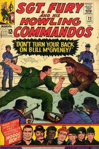 Cover Thumbnail for Sgt. Fury (Marvel, 1963 series) #22