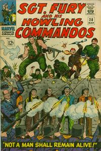 Cover Thumbnail for Sgt. Fury (Marvel, 1963 series) #28
