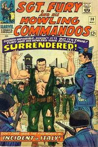 Cover Thumbnail for Sgt. Fury (Marvel, 1963 series) #30
