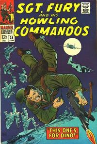 Cover Thumbnail for Sgt. Fury (Marvel, 1963 series) #38